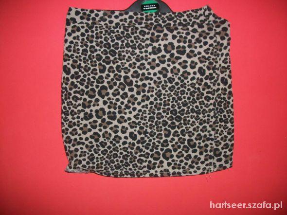 Spódnice spódnica h&m cętki panterka spódniczka