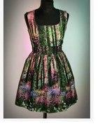 Sukienka Atmosphere z motywem lasu M lub L