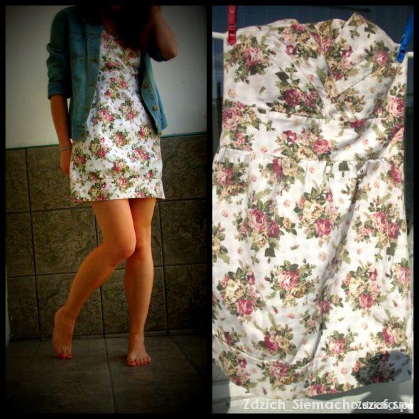 Romantyczne Różana sukienka