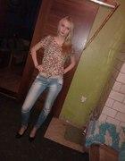 jeans z panterka