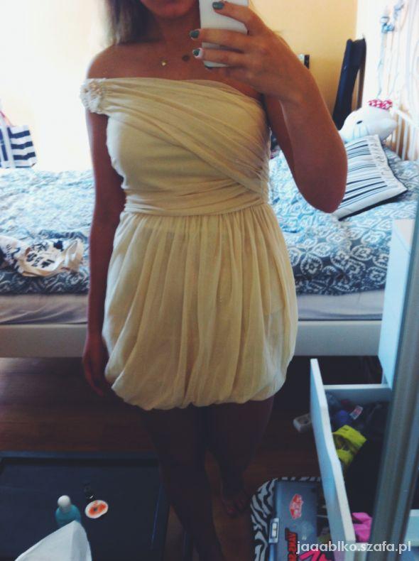 Suknie i sukienki kremowa fantazja