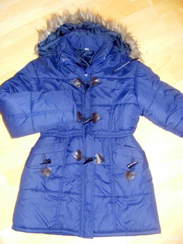 Odzież wierzchnia Granatowa kurtka M lub L 30zł
