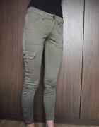 Nowe zielona spodnie Mango rozmiar 32