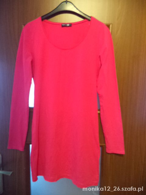 Tanio tunika różowa Xl