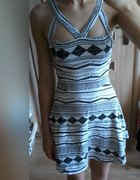 Aztec Topshop cut out dress