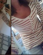 Bluzeczka w paseczki i jeansy