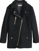 płaszcz h&m kurtka z domieszką wełny wool blend...