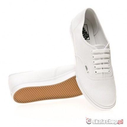 Białe Vansy Authentic Lo Pro...