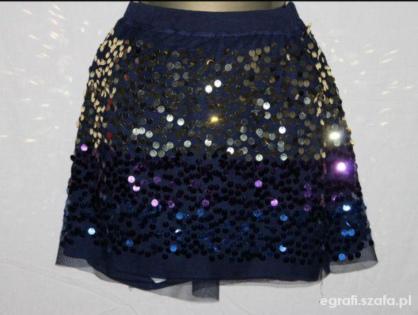 Spódnice Spódnica M&S pas 67cm wzrost 164cm cekiny