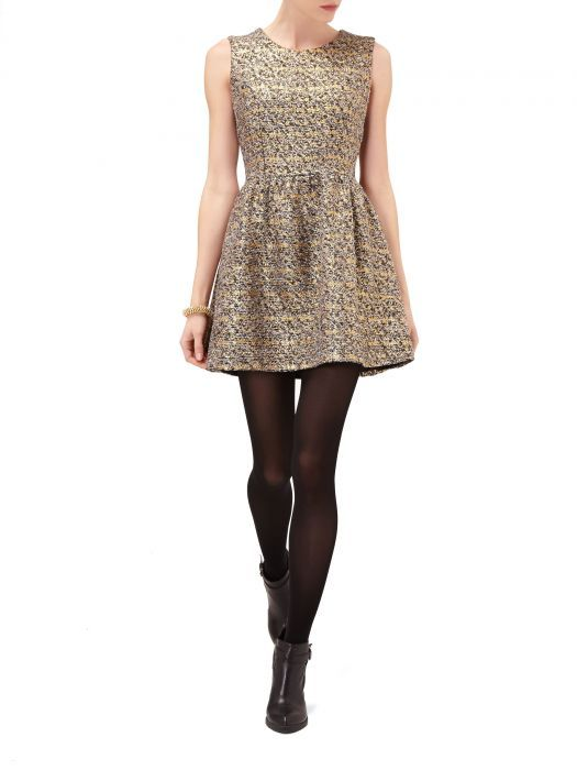 złoto srebrna sukienka reserved pilnie...