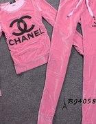 Dresiak plusz różówy Chanel xs