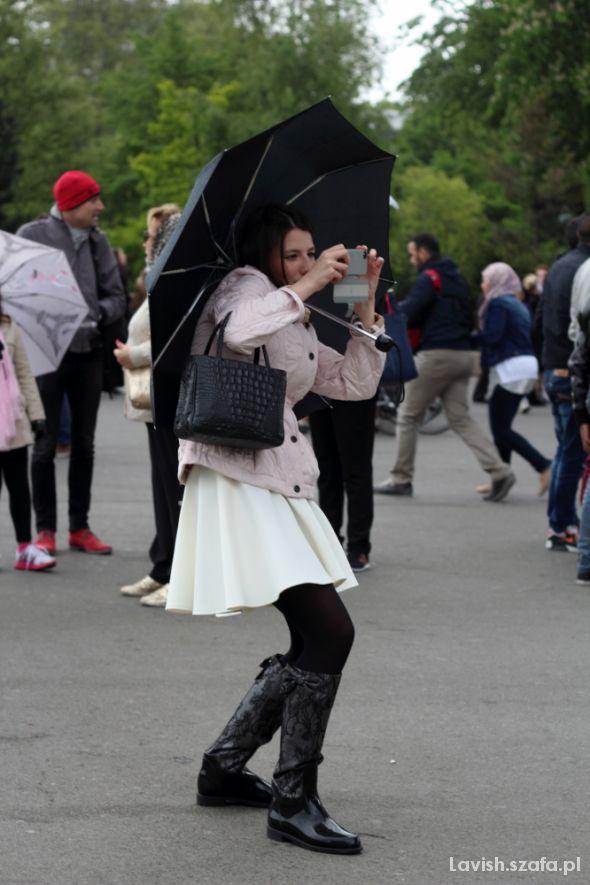 Romantyczne Rainy day in Paris