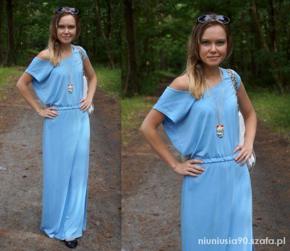 Mój styl Maxi Dress