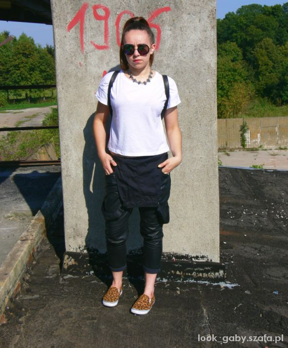 Mój styl Leather overalls