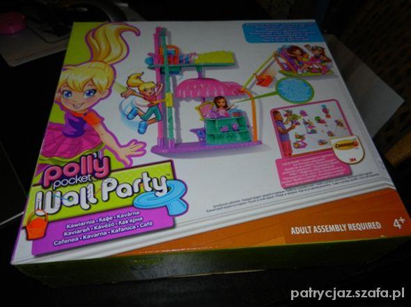 Zabawki Polly pocket Wall Party Kawiarnia