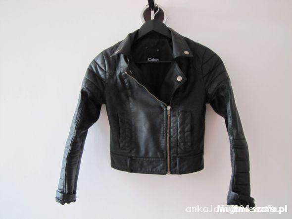 Ubrania Ramoneska biker czarna CUBUS xs