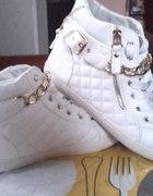 Nowe białe buty