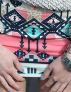 bershka aztec spódniczka