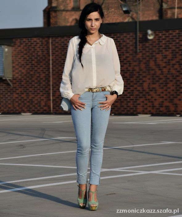 Blogerek Blue jeans