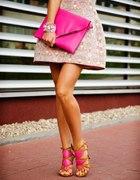 Pink look...