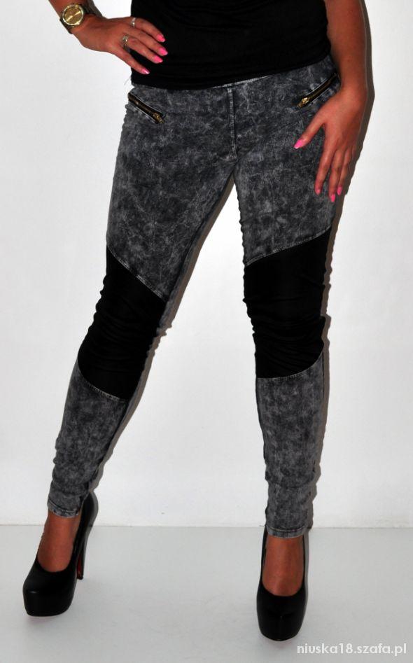 Spodnie ze wstawkami