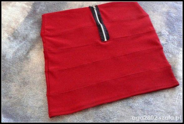 Spódnice Spódniczka bandażowa z zamkiem L