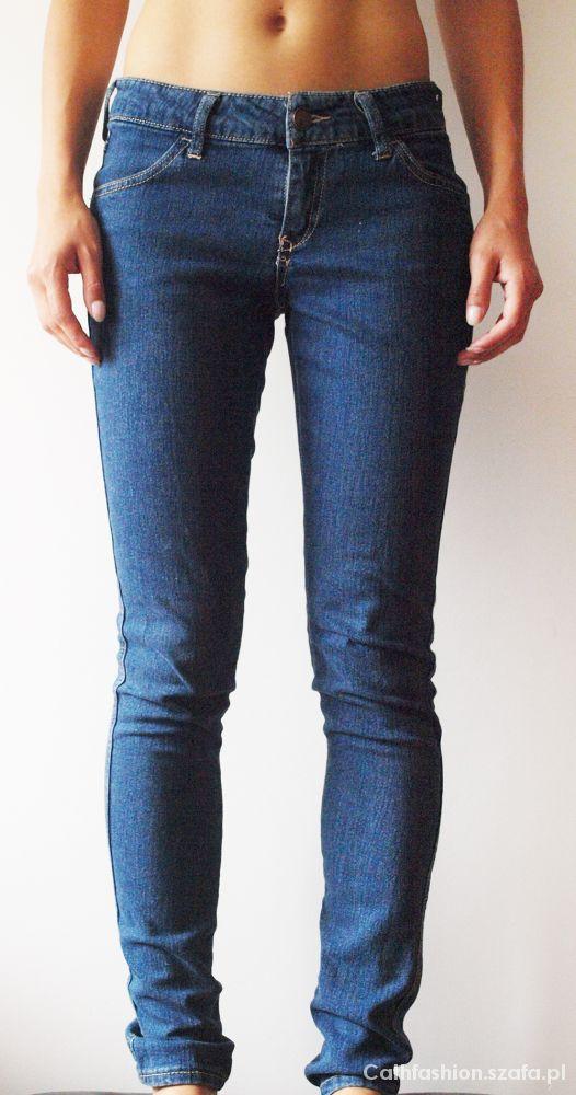 Spodnie Spodnie dżinsowe H&M r 26 32