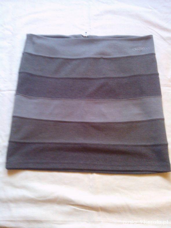 Spódnice szara spódniczka w paski 36