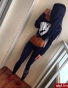 wlosy clip in od 70 cm czarne naturalne Nike...