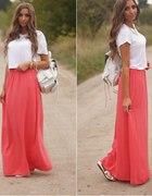 Coral Maxi Skirt...