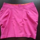Różowa mini spódniczka tulipan