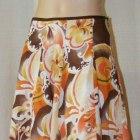 L NOWA Wzorzysta spódnica