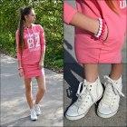 Sportowa sukienka dresowa