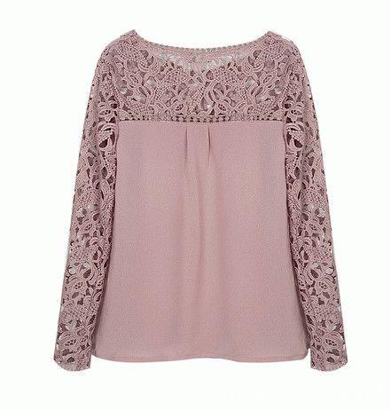 Ubrania Koronkowa bluzka