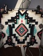 Spódnica aztek Bershka