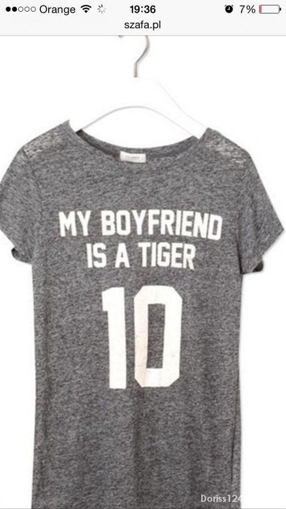 My boyfriend is a tiger koszulka Pull & bear...