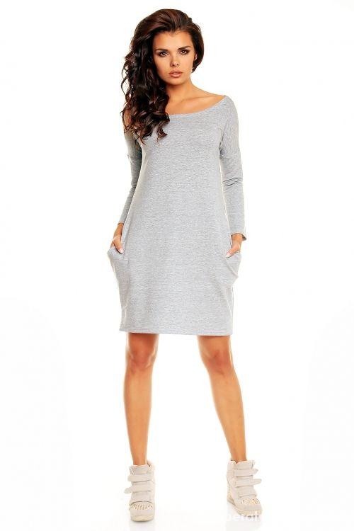 Ubrania Sukienka dresowa z kieszeniami