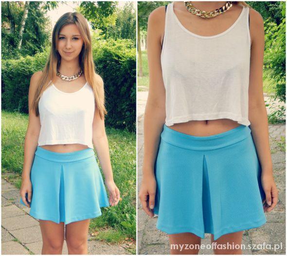 Romantyczne Skirt like a blue sky