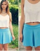 Skirt like a blue sky