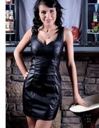 Poszukiwana sukienka z ekoskóry rozmiar 38