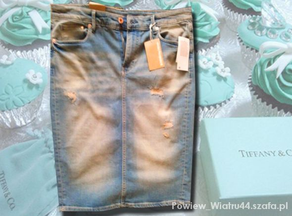 Spódnice jeans moja miłość