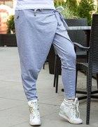spodnie dresowe z zakładka