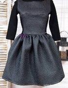 Sukienka pikowana rozmiar 38
