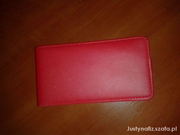 Pozostałe Czerwony futerał dla Nokia Lumia 520