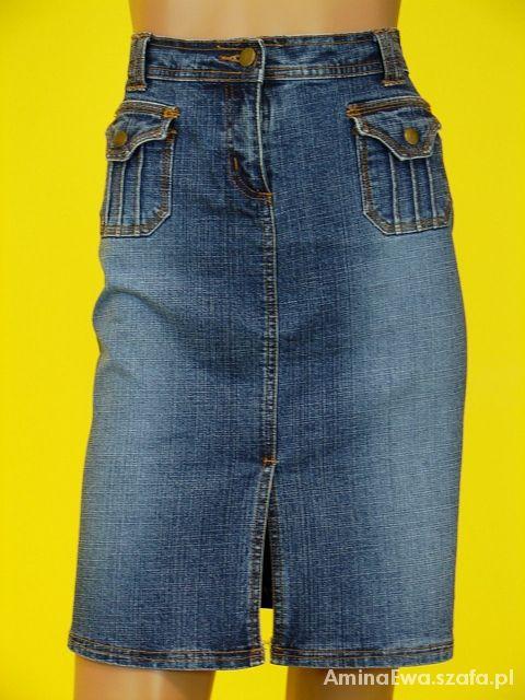 Spódnice Jeansowa bojóka