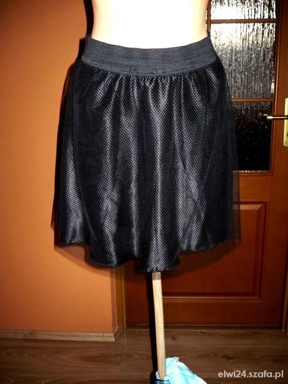 Spódnice tiulowa rozkloszowana M kropki