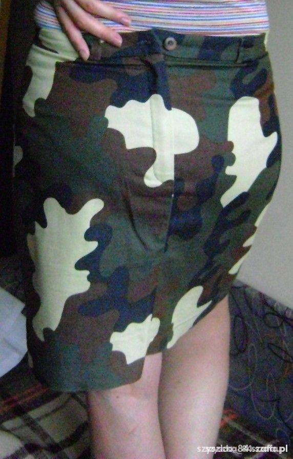 Spódnice Spódnica moro militarna