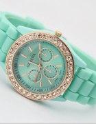 Zegarek Geneva miętowy...