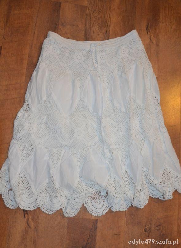 Spódnice Spódnica biała lato