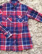 WARP jesień koszula krata rozmiar 36 piękna